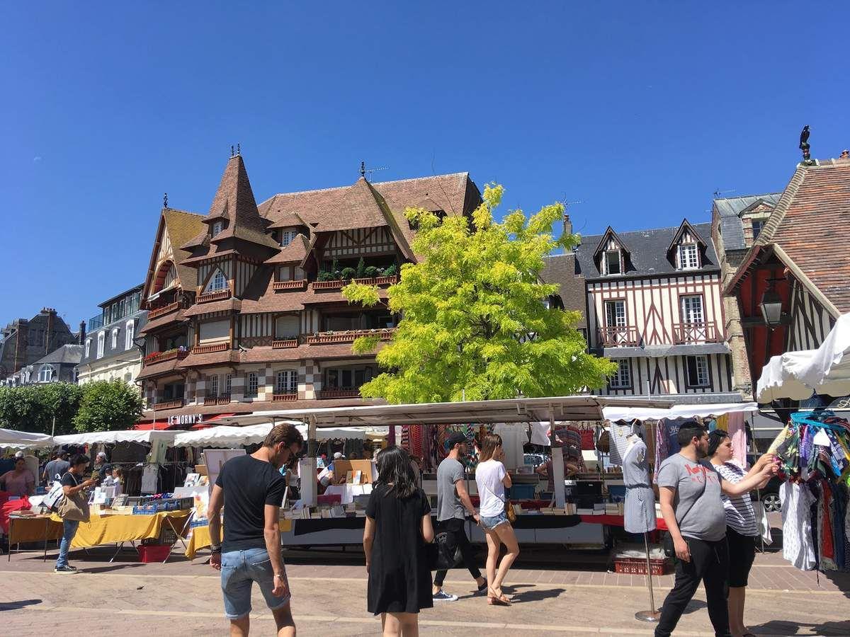 Balade à Deauville.