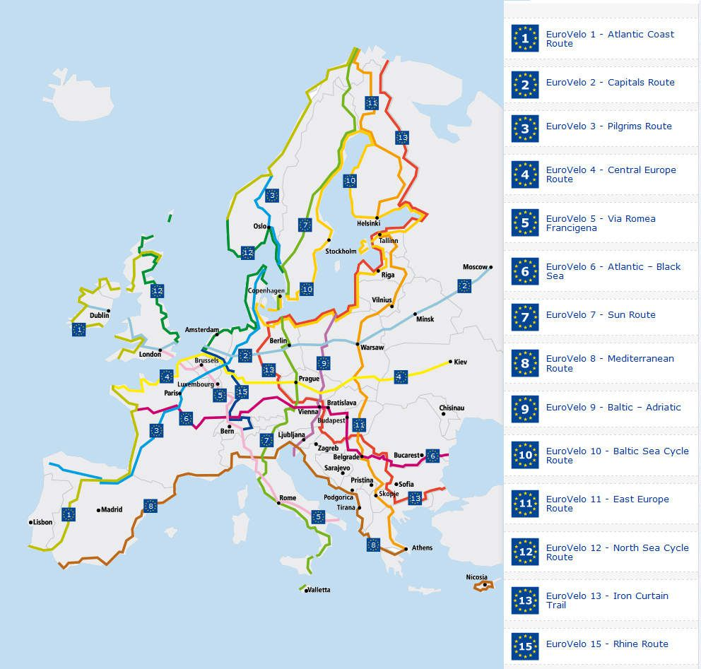 Cycle Tour France Route