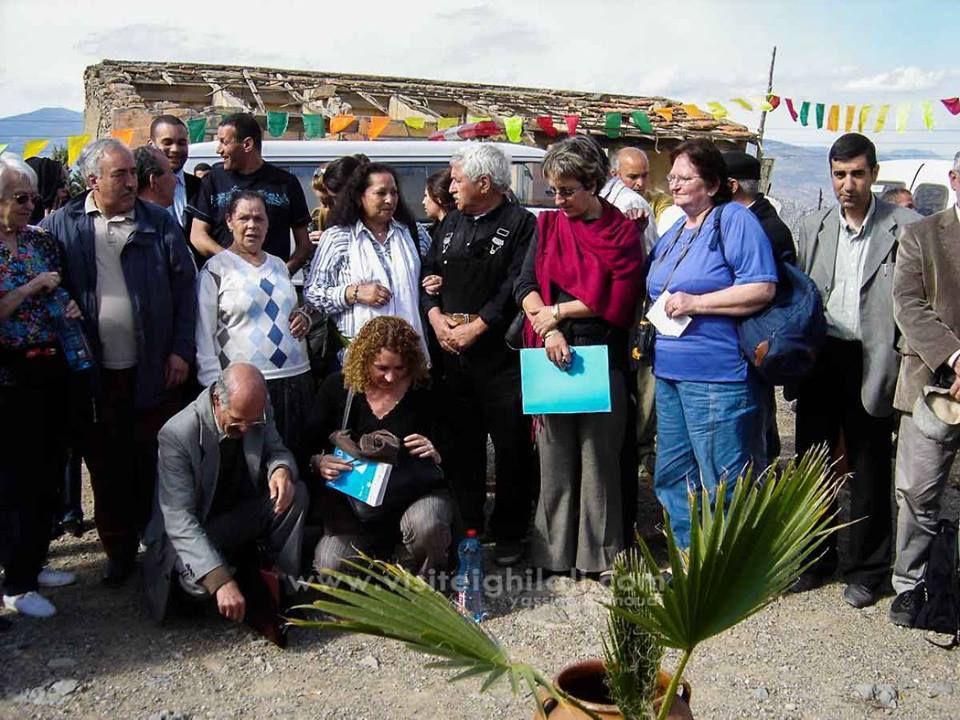 Délégation de la mairie de Créteil - France - en visite à Ath Saidha en 2007