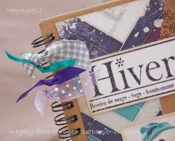 Série de carnets &quot&#x3B;Hiver-Noël&quot&#x3B;