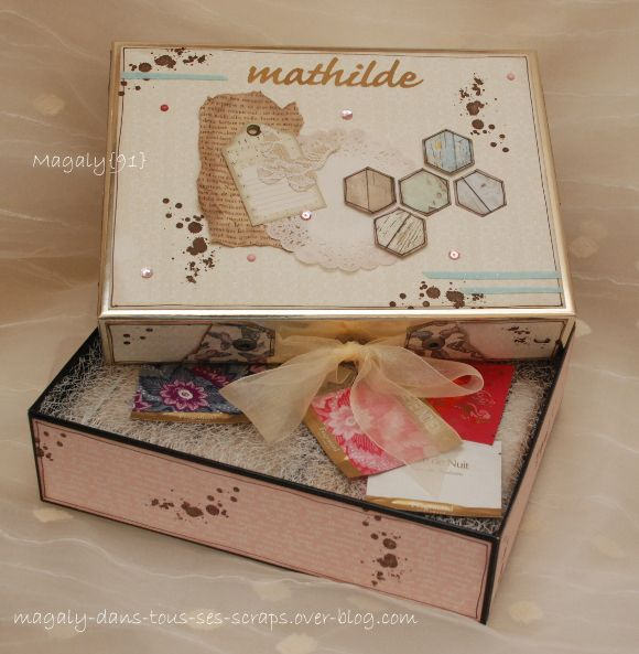 Coffret {correspondance} Mathilde