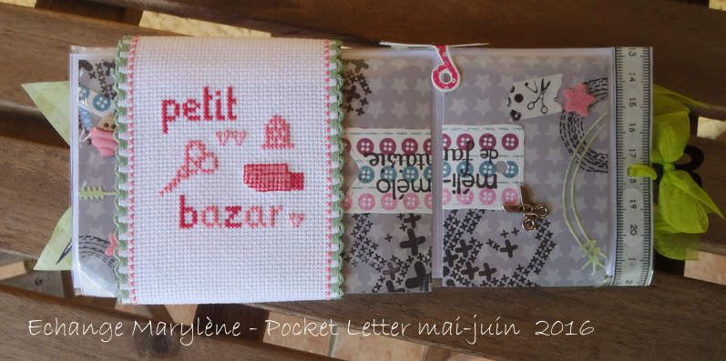 Pocket Letter Marylène {Mai/Juin 2016}
