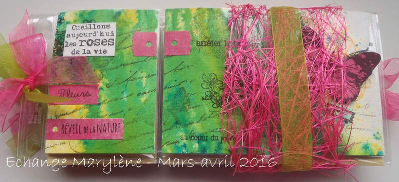 Pocket Letter Marylène {Mars/Avril 2016}