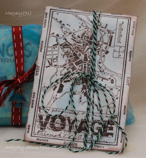 "Echange ""Une pocket letter"" : Juillet-Août 2016"