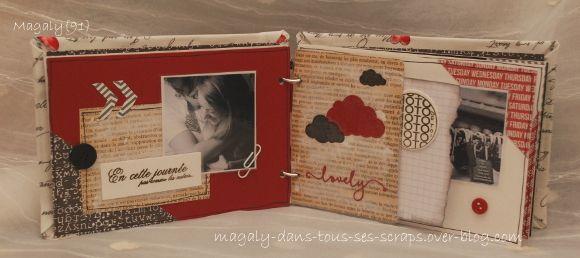 Kit mini-album {Mon coeur}