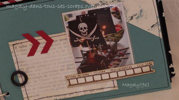 Kit mini-album {Pirate}