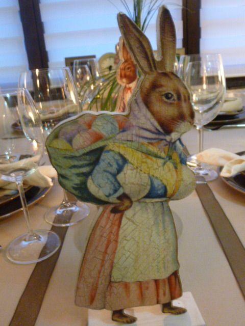 deco table Pâques 2015 !