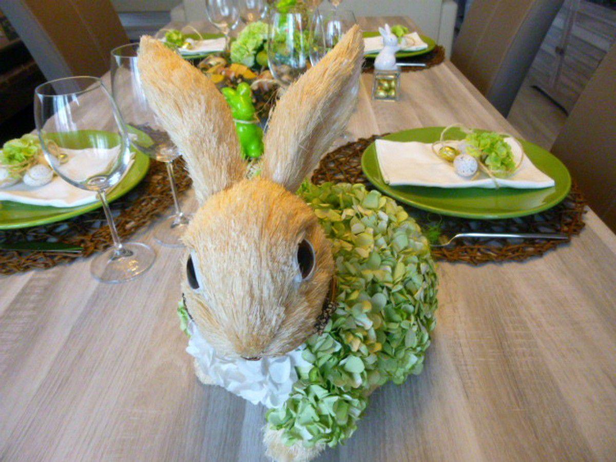 déco table Pâques 2015