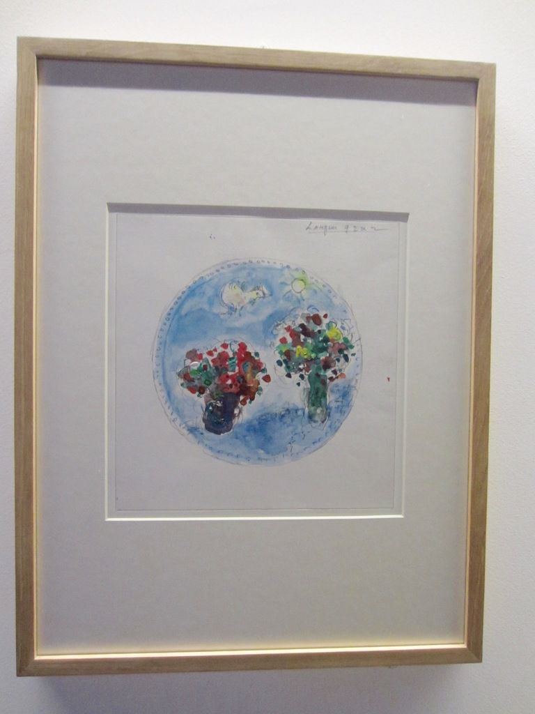 Marc Chagall- La paix ou l'arbre de  vie- Maquettes de travail