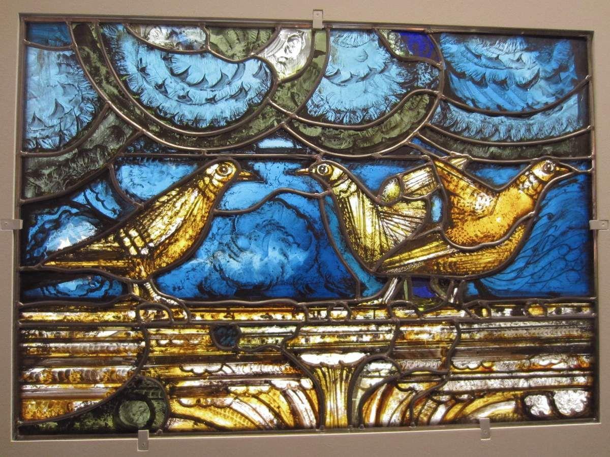 Chagall, Soulages,Benzaken... Le vitrail contemporain