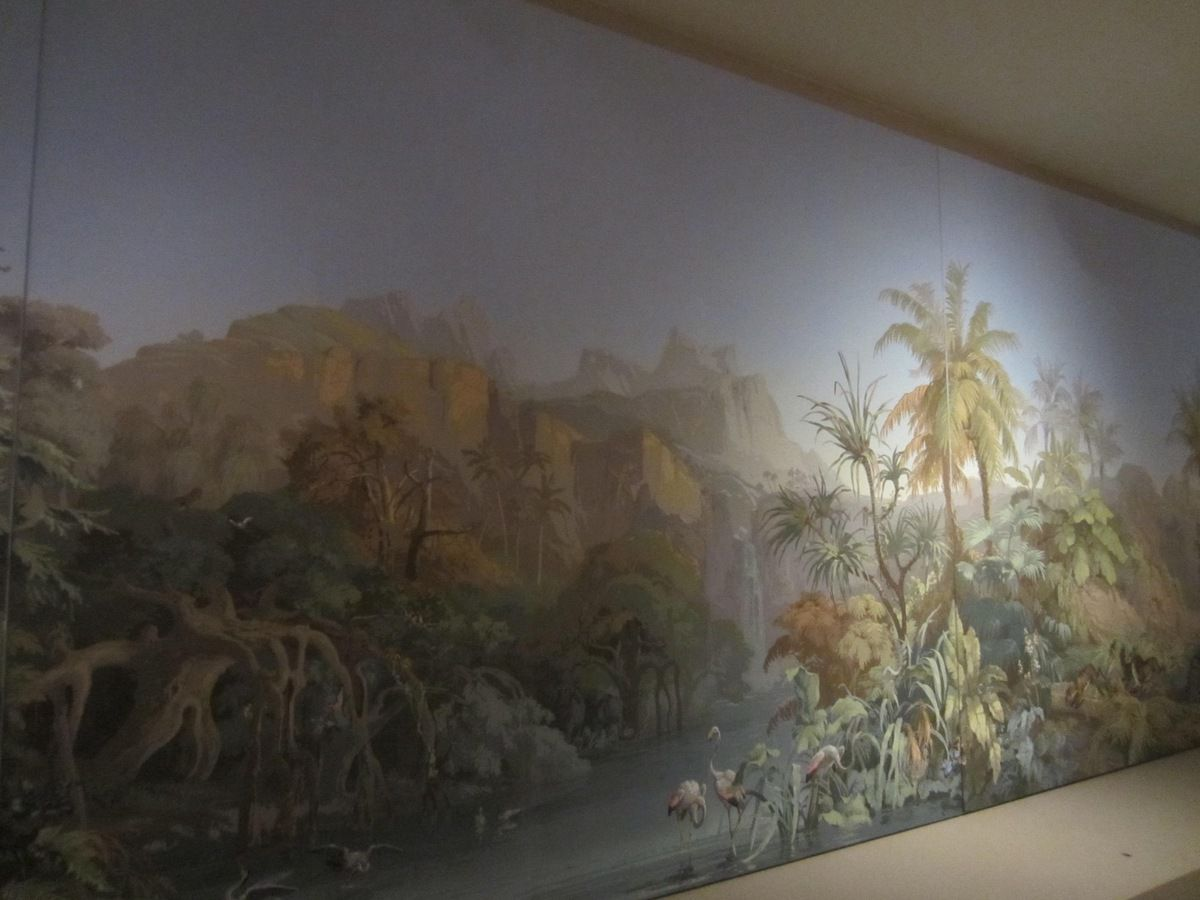 Papier peint panoramique Manufacture Zuber 1855