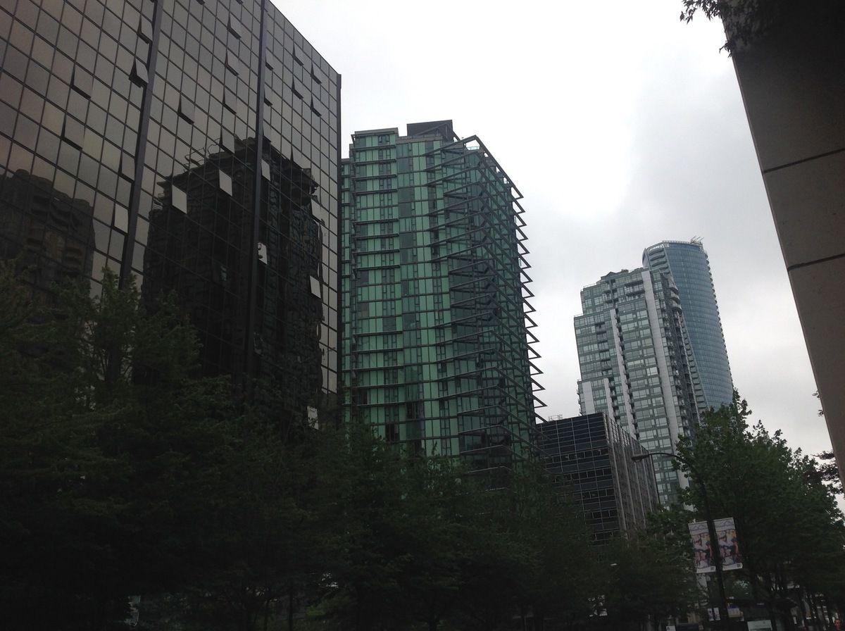 Vancouver, son port et ses gratte-ciel