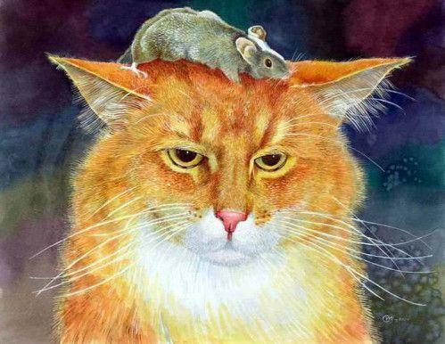 la Ronde des Chats dernier volet et Mimine...