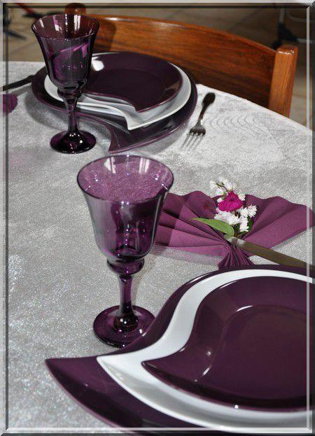 ma table déjeuner fleuri &quot&#x3B;improvisée&quot&#x3B;...