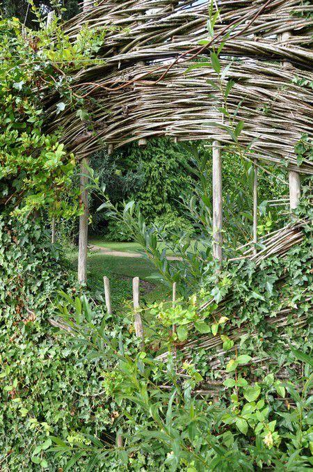 Le Potager et l'espace des herbes aromatiques