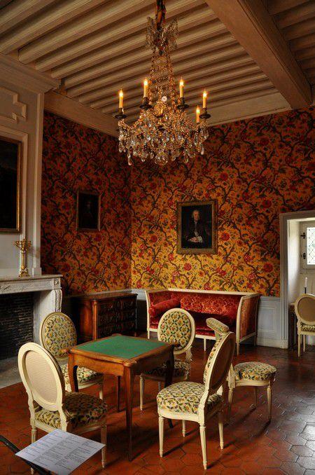 Balade dans le Loiret, château de Chamerolles, promenade des parfums