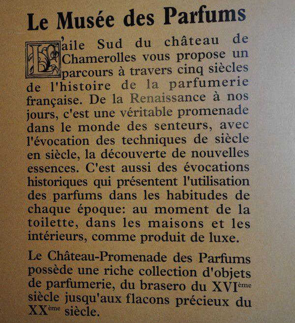 Château de Chamerolles, promenade des parfums volet 2