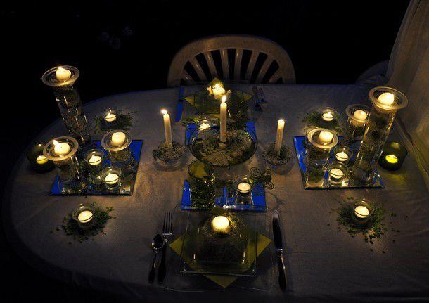"""ma table """"nuit d'été""""..."""