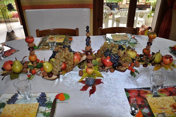 ma table fruits d'automne
