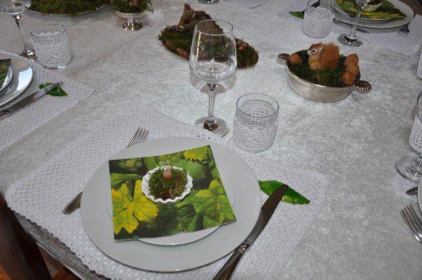 ma table &quot&#x3B;un dimanche en famille&quot&#x3B;