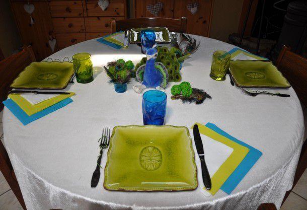 "ma table improvisée ""Peter""..."