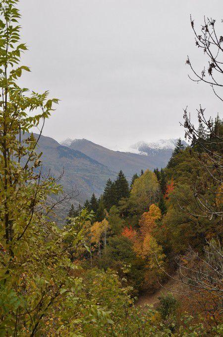 Savoie, aujourd'hui balade à Landry