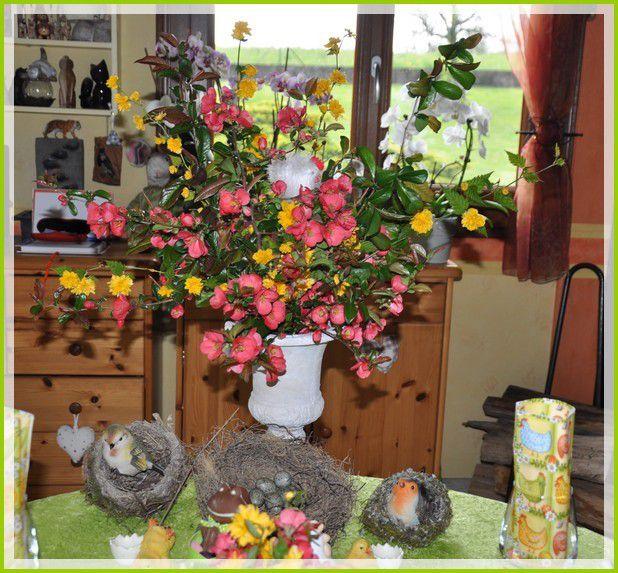 ma table de Pâques, dimanche midi