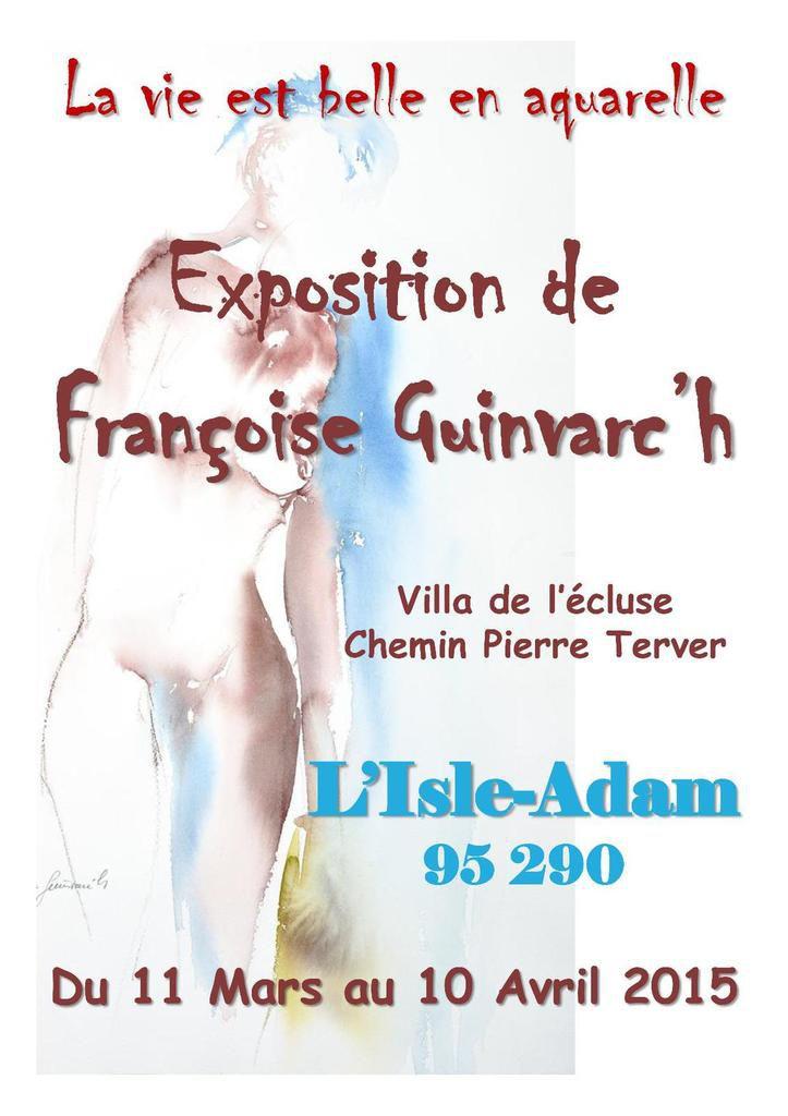 Je vous propose une nouvelle exposition personnelle à L'Isle-Adam  ( 01 34 73 26 96 / 06 65 35 60 04 °