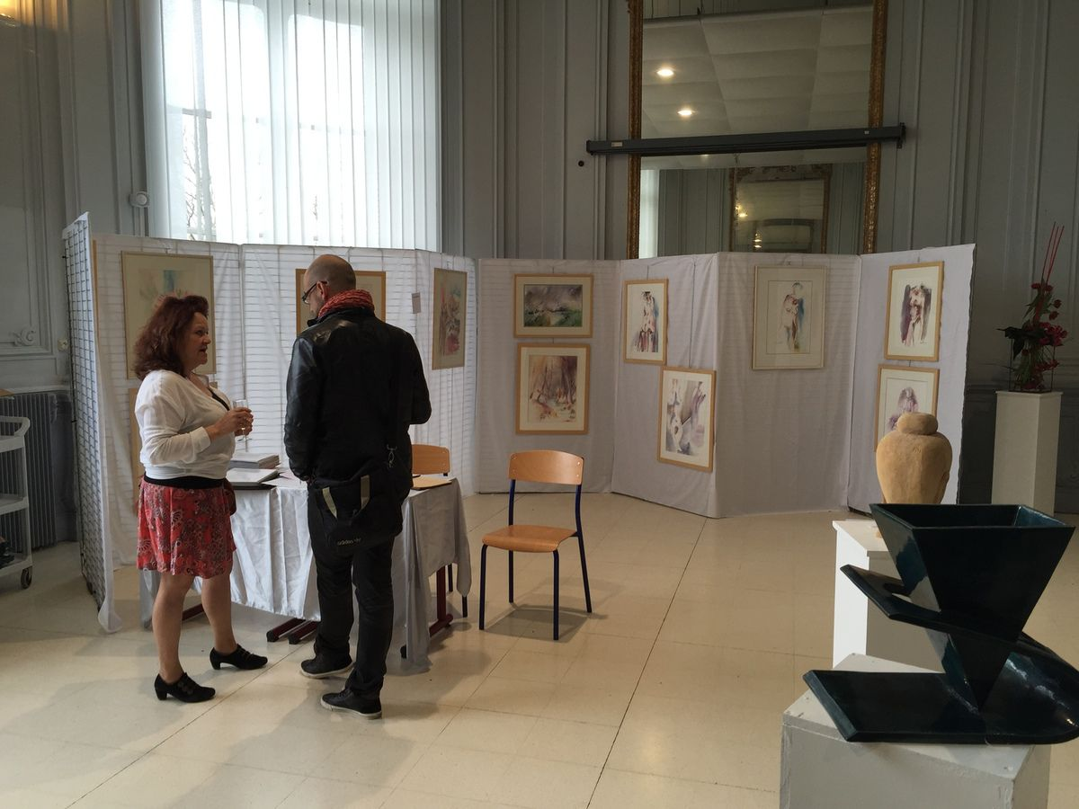 Expositions d'Avril 2015