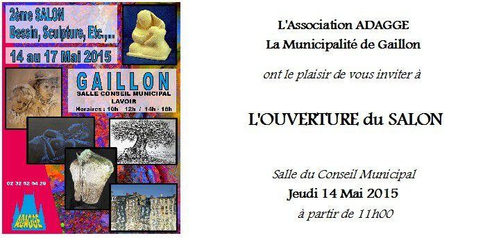 J'ai découvert Gaillon, invitée pour son festival d'Aquarelle qui a lieu tous les 2 ans !