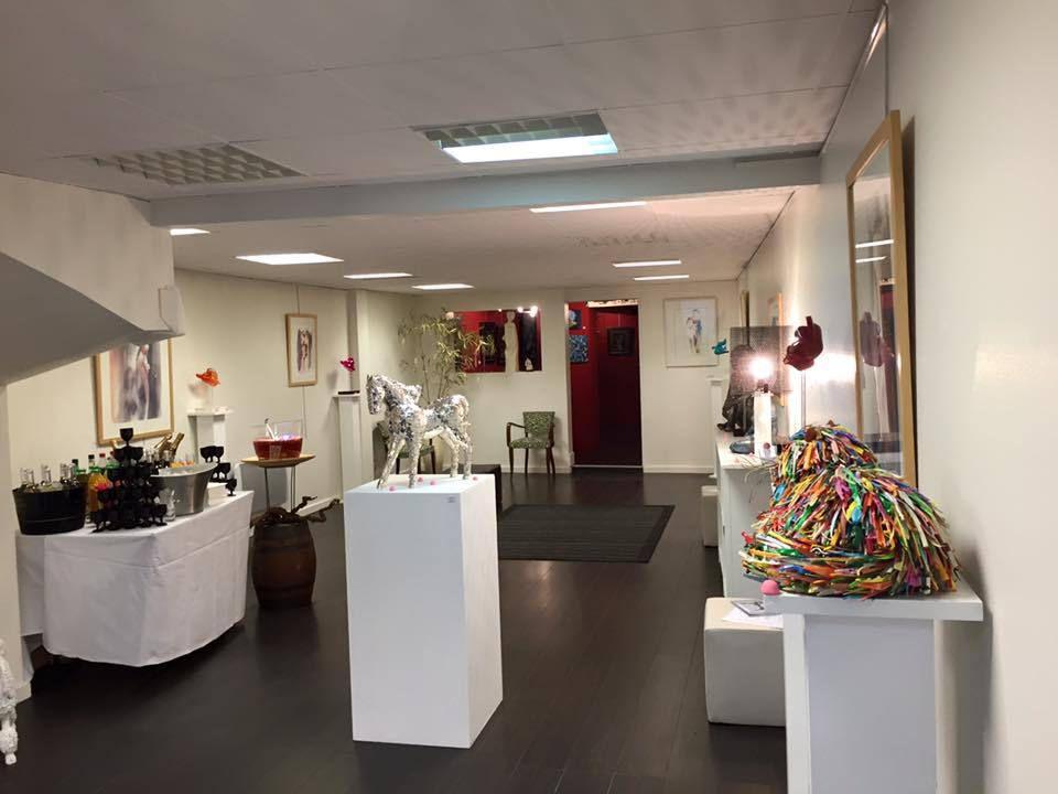 Exposition d'automne Aquarelle/sculpture à Senlis