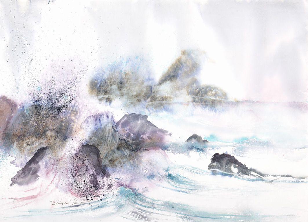 Eclats de mer .