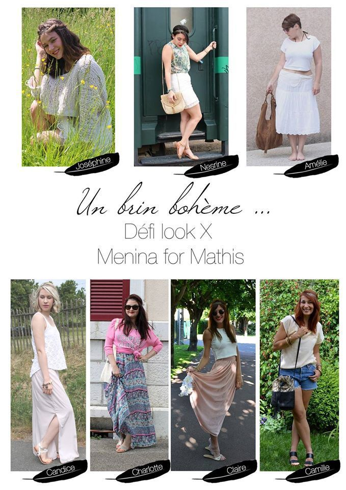 Défis Look #34 - Menina For Mathis