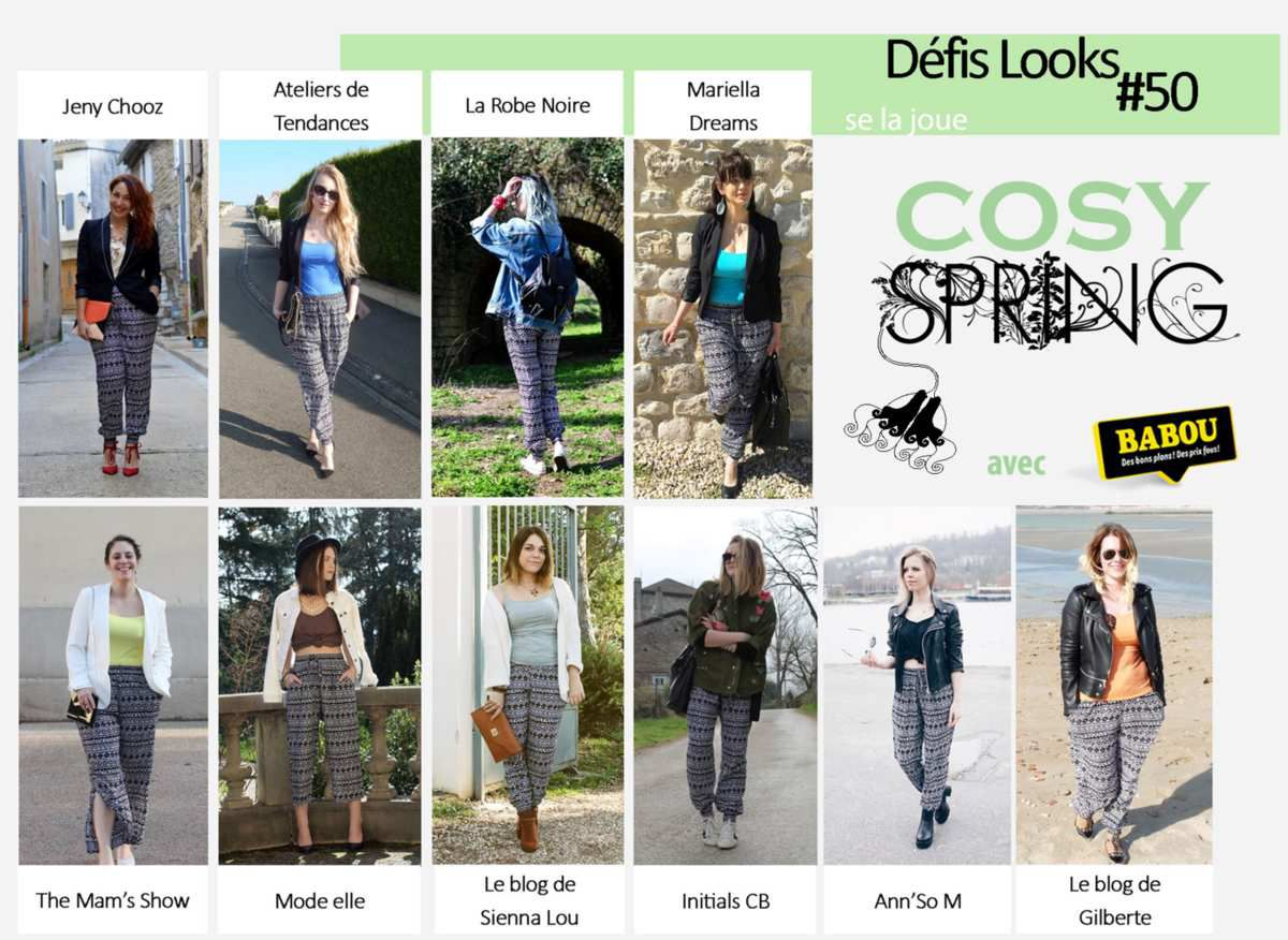 Défis Look #50 [COSY SPRING] w/ Babou