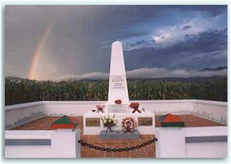 Le monument de Diên Biên Phù.