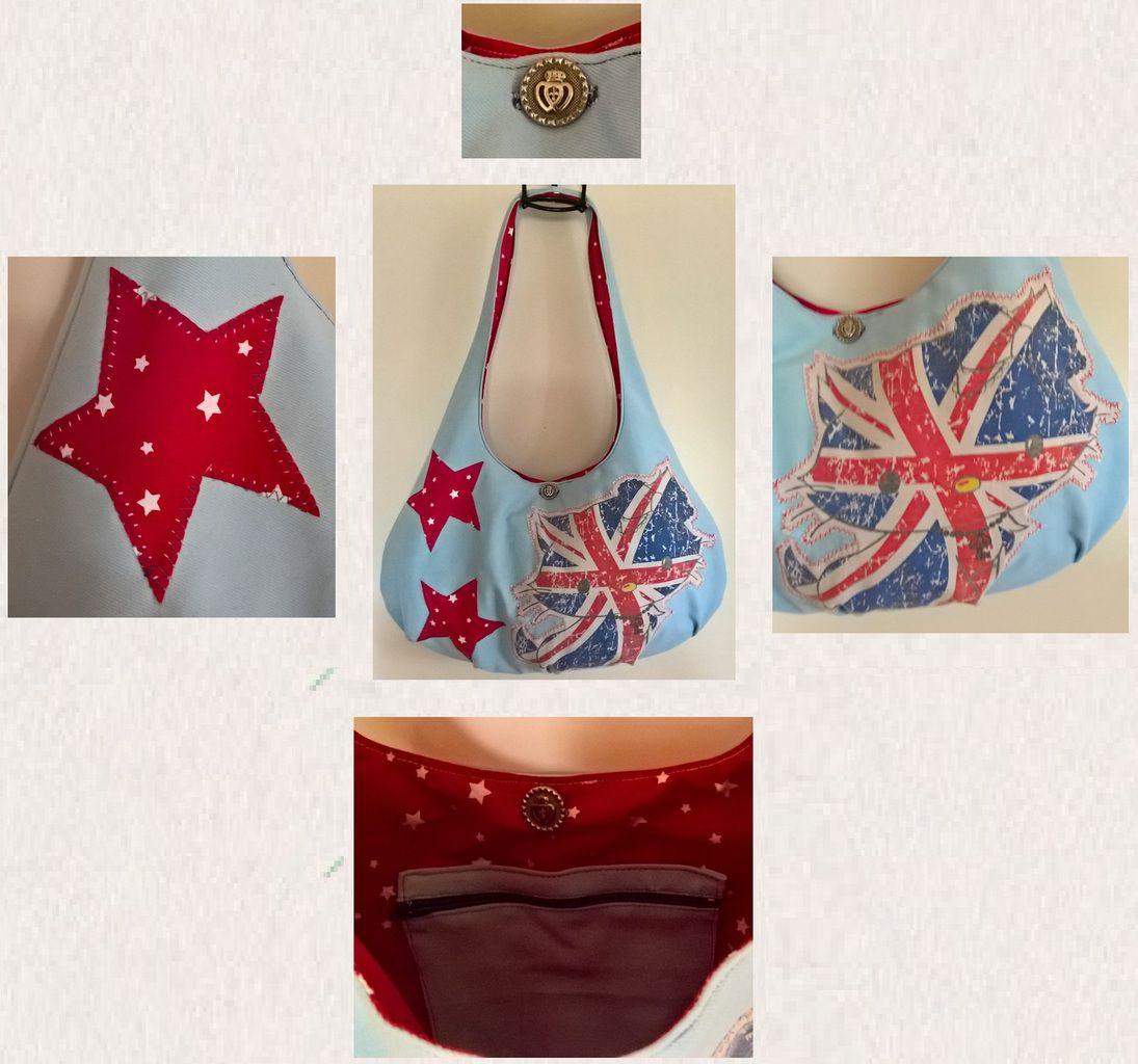 A English bag for Elina