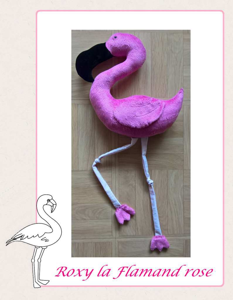 Rosy la flamand rose