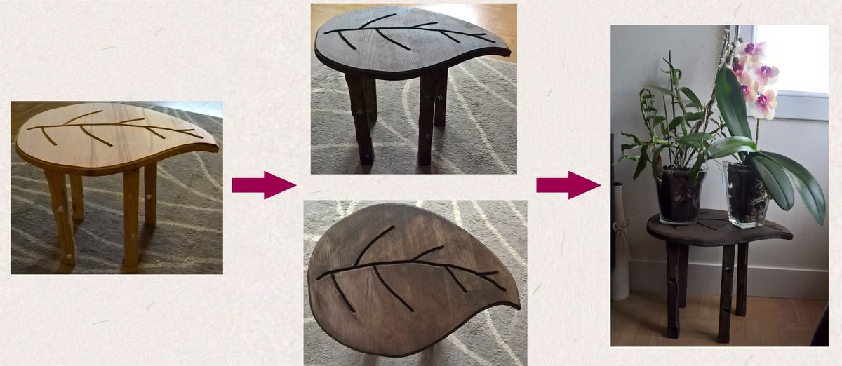 Une table nature
