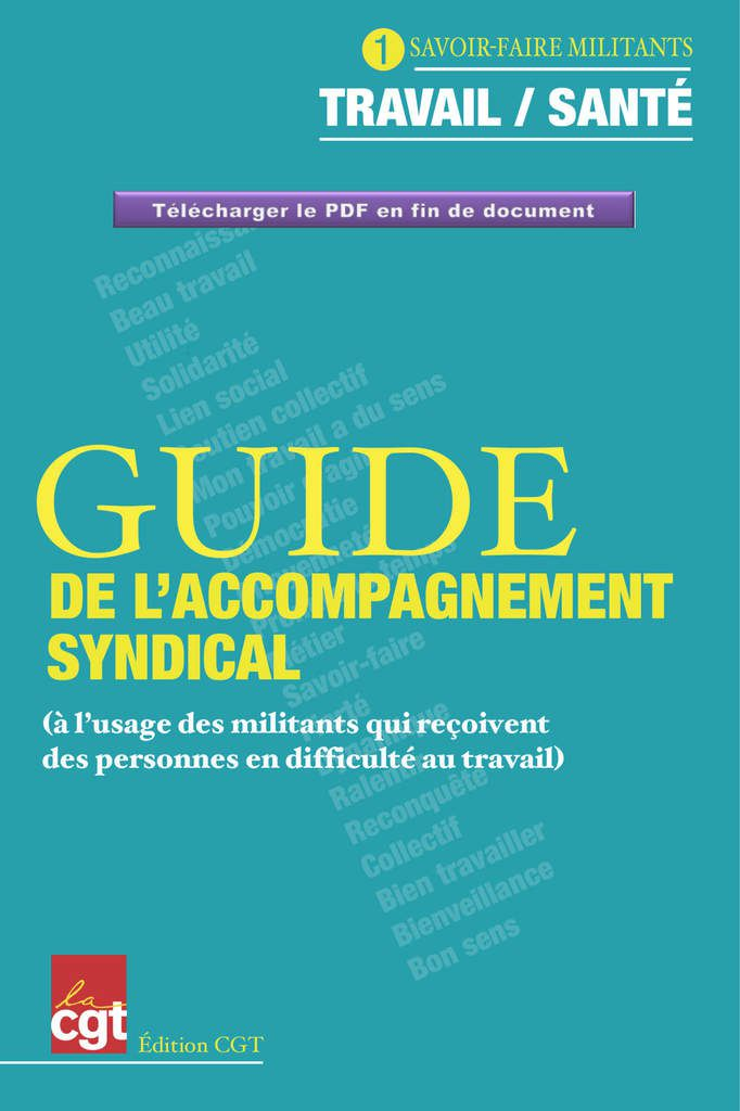 Guide CGT d'accompagnement syndical