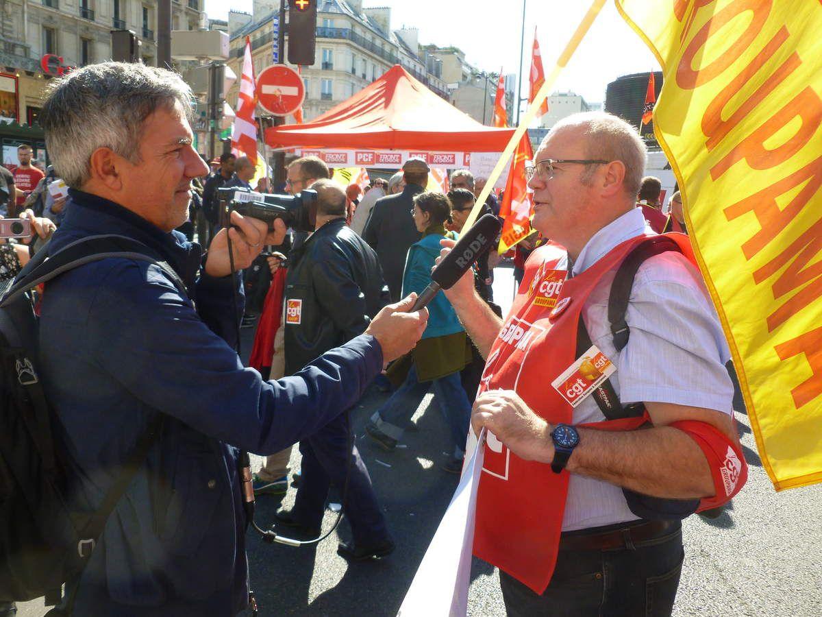 Les CGT Groupama plus nombreux parmi les 220 manifestations en France contre la loi travail XXL !!