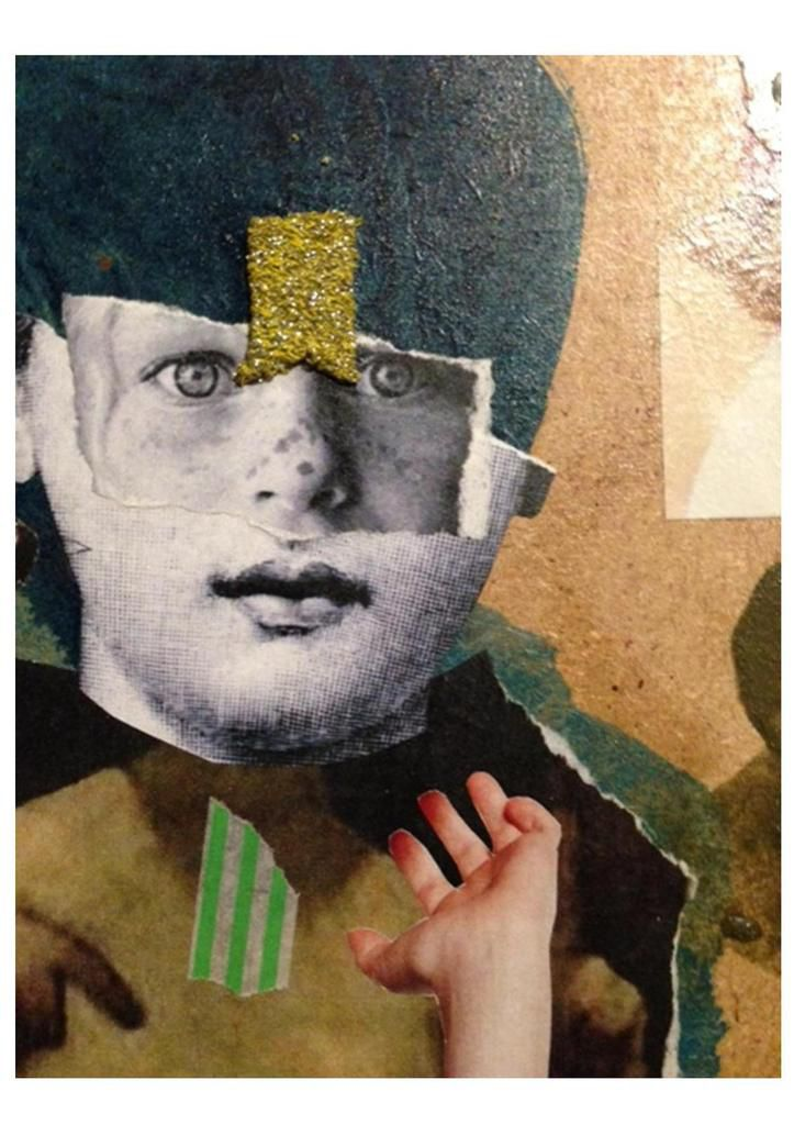 Bustes, Assemblages et Collages boites in progress