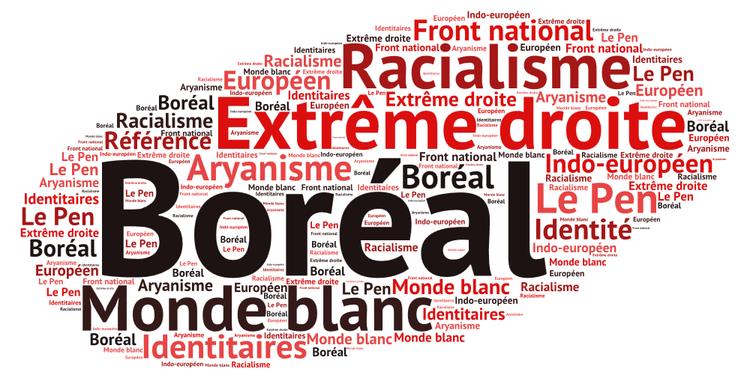 Boréal [adj.] : qui se réfère à la race blanche (pour l'extrême droite) (Sonya Faure)