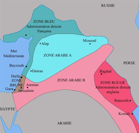 Combien d'anniversaires l'accord de Sykes-Picot fêtera-t-il encore ?