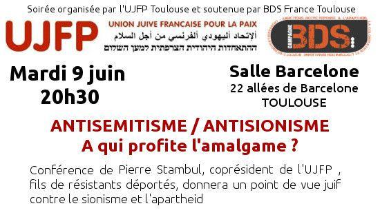 Provocation ? Pierre Stambul arrêté comme un terroriste ! (UJFP) !