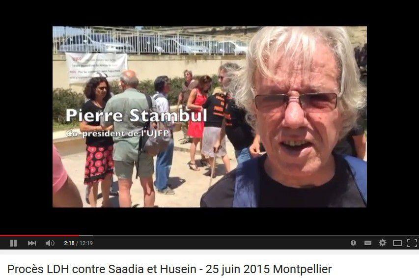 Procès LDH contre Saadia et Husein - 25 juin 2015 Montpellier