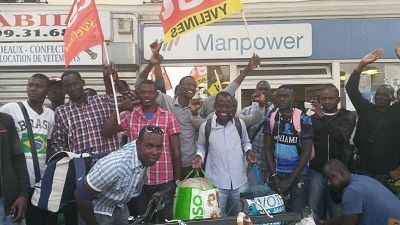 Première victoire aux Mureaux pour les travailleurs sans papiers des Yvelines (CGT)
