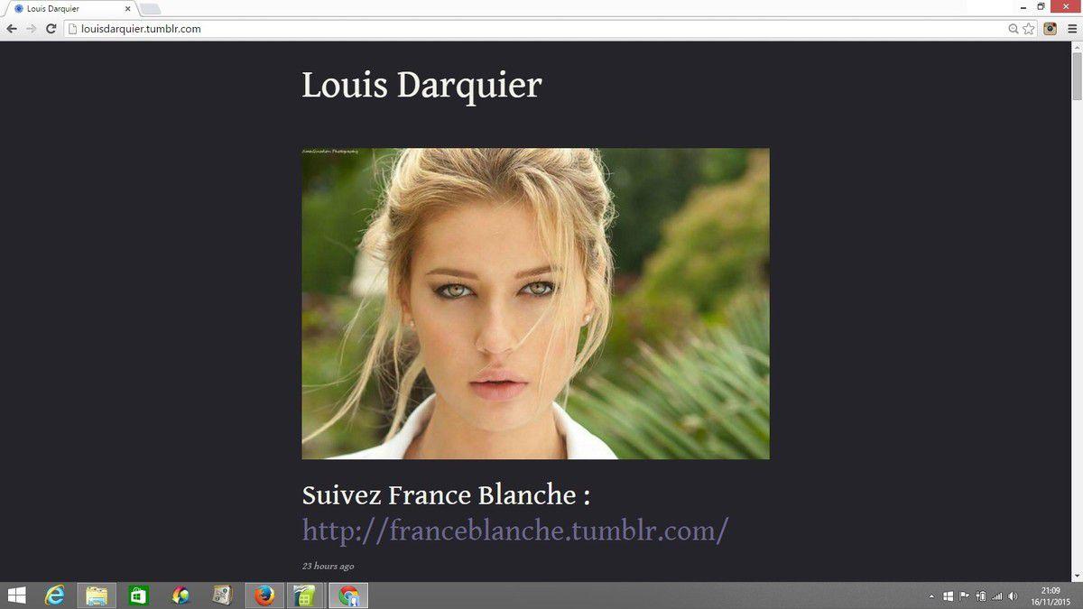 France blanche et une vidéo antisémite