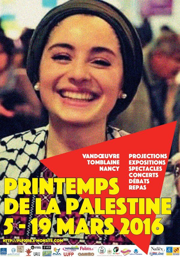 Le printemps de la Palestine 2016 à Nancy