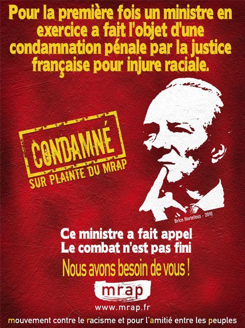 La communication externe du MRAP (6).  Contre le racisme (3). Les actions en justice (2)