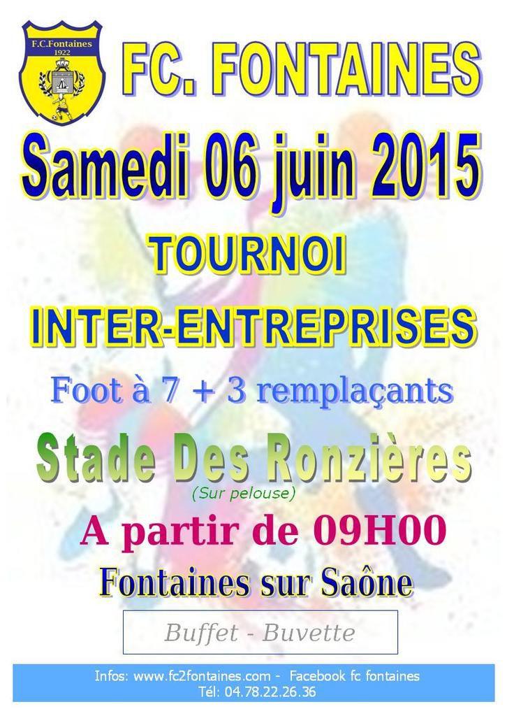 Tournoi Inter-Entreprises 2015